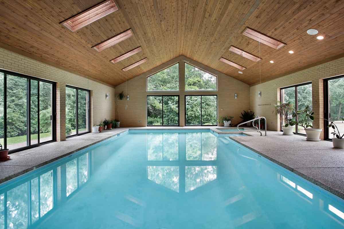 vakantiehuis Ardennen met binnenzwembad
